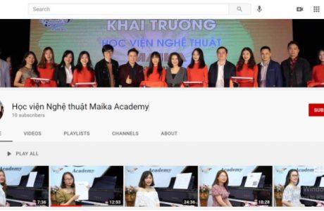 kenh-youtube-hoc-vien-nghe-thuat-maika